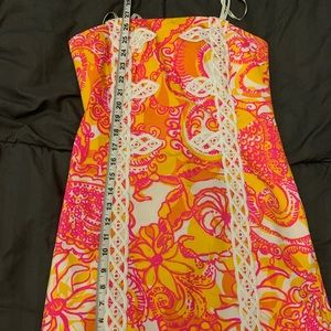 Lilly Pulitzer Dresses - 🎉HP🎉 Lilly Pulitzer Tansy Strapless Dress